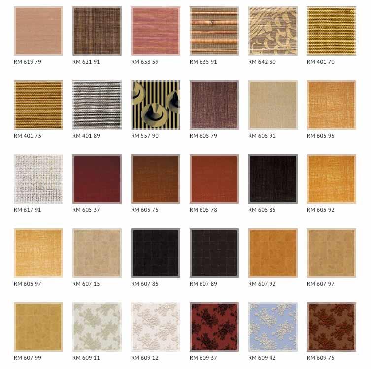 les revêtements de sols et murs (papiers peints, toiles de verre, revêtements muraux intissés, patent,...)